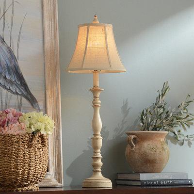 Mackinaw Cream Buffet Lamp