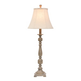 Slate Blue Harmon Buffet Lamp
