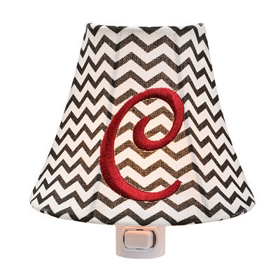 Monogram C Chevron Night Light