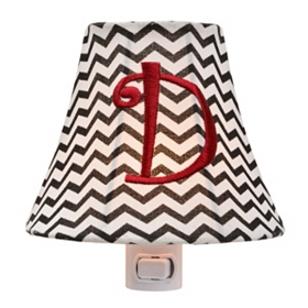 Monogram D Chevron Night Light