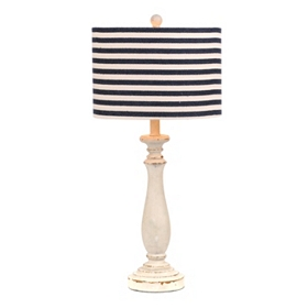 Coastal Stripes Table Lamp