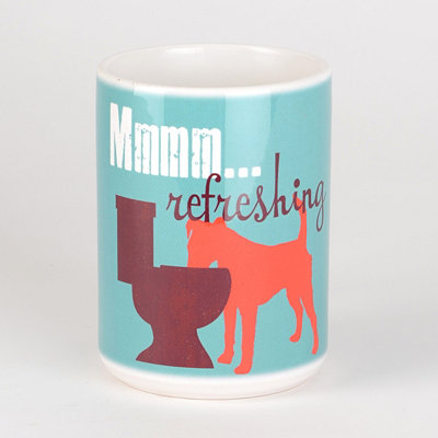 Refreshing Dog Mug