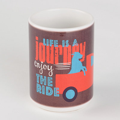 Life is a Journey Dog Mug