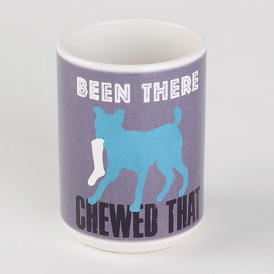 Been There Chewed That Dog Mug