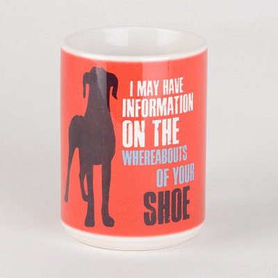 Whereabouts of Your Shoe Dog Mug