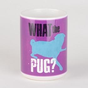 What the Pug Dog Mug