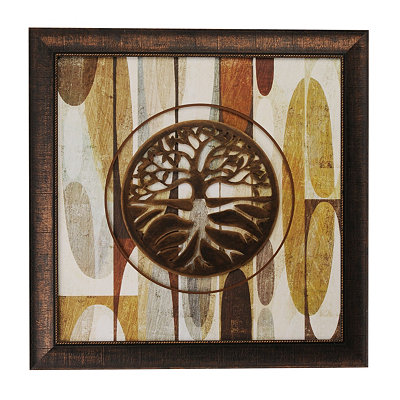 Bronze Tree Shadowbox