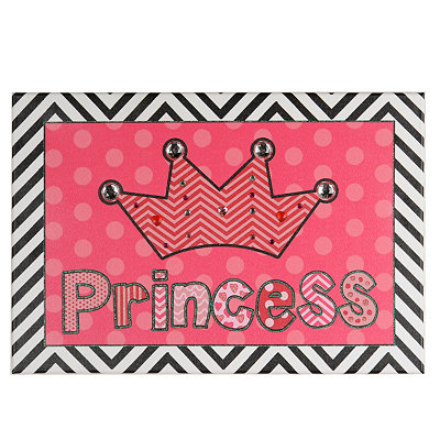 Princess Canvas Art Print