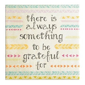 Always Grateful Wall Plaque