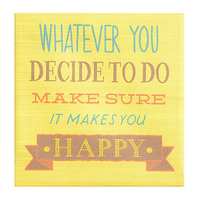 Whatever You Decide Wall Plaque