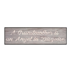 Angel in Disguise Wall Plaque