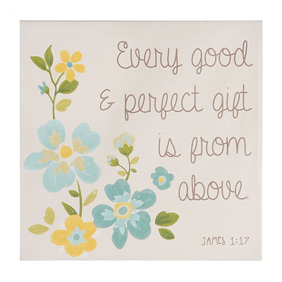 Every Good & Perfect Gift Wall Plaque