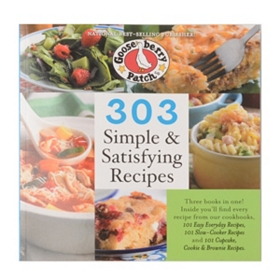 303 Simple & Satisfying Recipes Cookbook