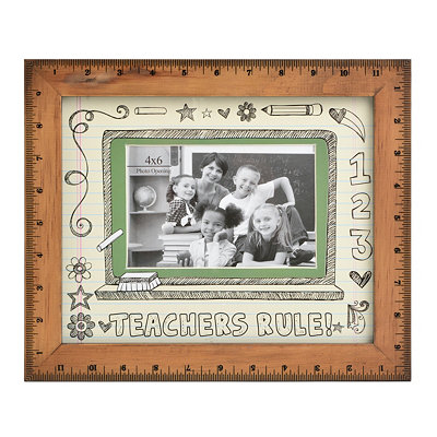 Teachers Rule Picture Frame, 4x6