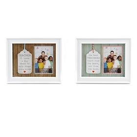 Teacher Wisdom Tabletop Picture Frames