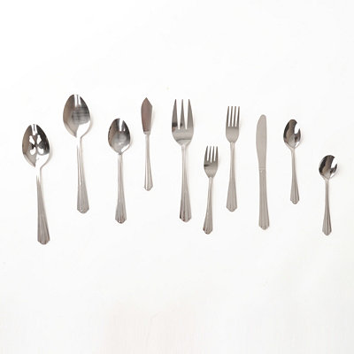 Canberra 45-pc. Flatware Set
