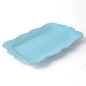 Aqua Rosalina Serving Platter