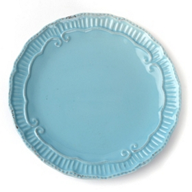 Aqua Rosalina Salad Plate