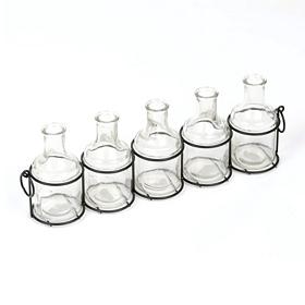 Glass Vase Table Runner