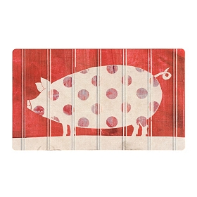 Spotted Pig Kitchen Mat