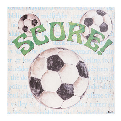 Soccer Fan Canvas Art Print