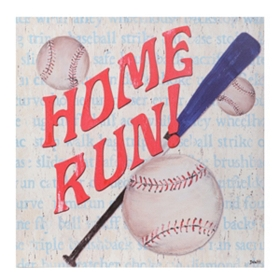 Baseball Fan Canvas Art Print