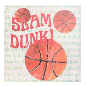 Basketball Fan Canvas Art Print