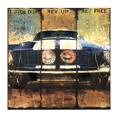 Clutch Down Canvas Art Print