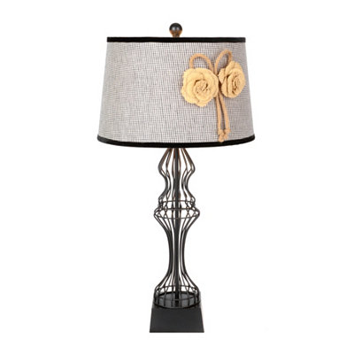 Black Wirework Table Lamp