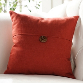 Dynasty Ruby Red Accent Pillow