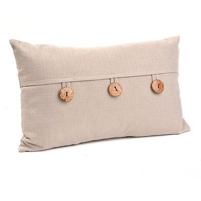 Dynasty Tan Oblong Pillow