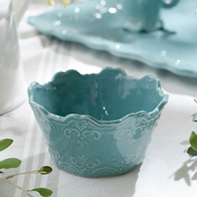 Turquoise Sweet Olive Cereal Bowl