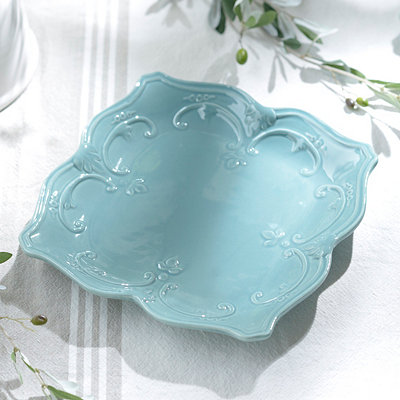 Turquoise Sweet Olive Dinner Plate