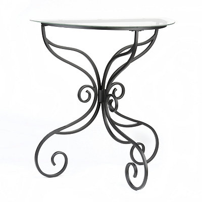 Black Elizabeth Console Table