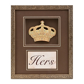 Her Majesty's Crown Jewels Shadowbox