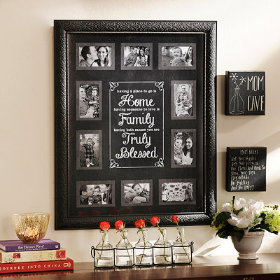 Truly Blessed Black Collage Frame