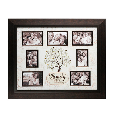 Jeweled Family Tree Collage Frame