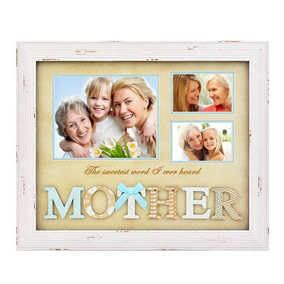 The Sweetest Word Collage Frame