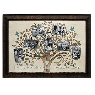 Family Is A World Collage Frame