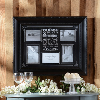 Wedding Vows Collage Frame