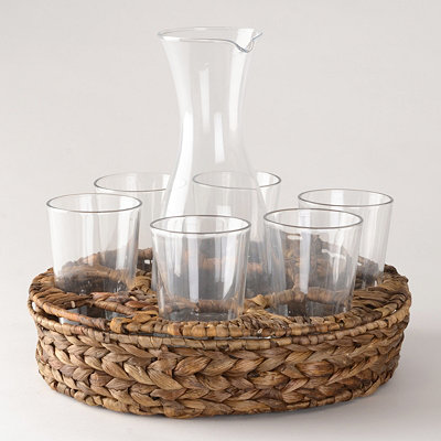 9-pc. Garden Terrace Beverage Set