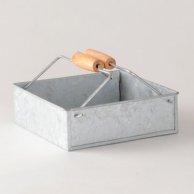 Galvanized Napkin Holder