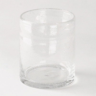Clear Iris Double Old-Fashioned Glass