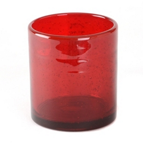 Ruby Iris Double Old-Fashioned Glass