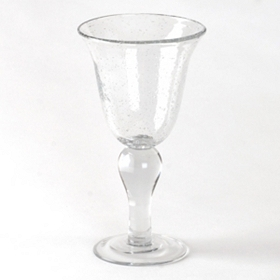 Clear Iris Goblet