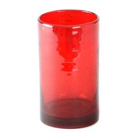 Ruby Iris Highball Glass