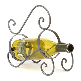 Simple Swirl Wine Bottle Holder