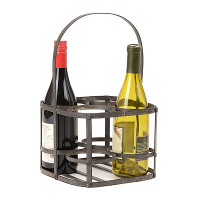 Vintage Wine Bottle Carrier