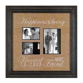 Married to Your Best Friend Collage Frame
