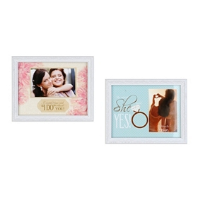 Engagement & Wedding Sentiment Picture Frames